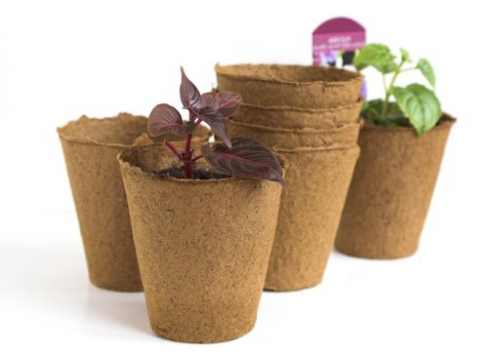 Торфяные горшки для растений
